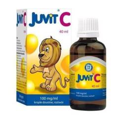 Juvit C krople 40ml