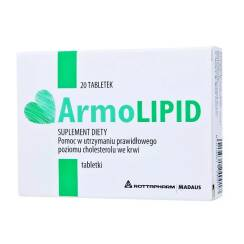 Armolipid 20 tabl