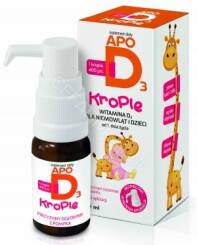 Apo D3 krople 10ml