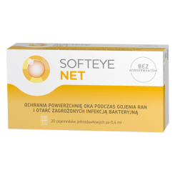 Softeye Net, żel do oczu, 0,4 ml x 20 minimsów