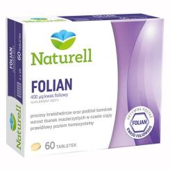 Naturell Folian 60 tabletek