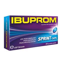 Ibuprom Sprint Caps 200mg 24 kaps.
