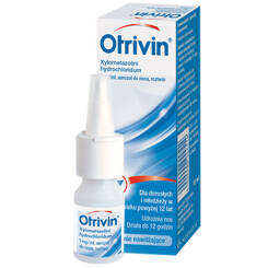 Otrivin 0,1% aer.do nosa 1 mg/1ml 10 ml