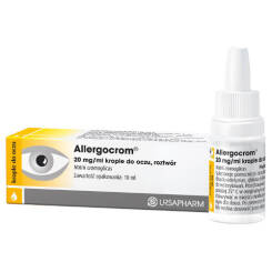 Allergocrom 2% krople do oczu 10ml