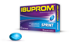 Ibuprom Sprint Caps 200mg 10 kaps.
