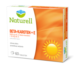 Naturell Beta-karoten + E  60 tabl