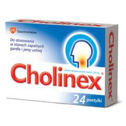 Cholinex 24 pastylki do ssania