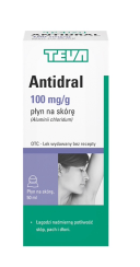 Antidral płyn 0.5g/5ml 50 ml