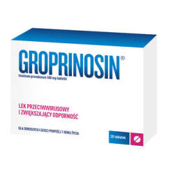 Groprinosin 50 tabl