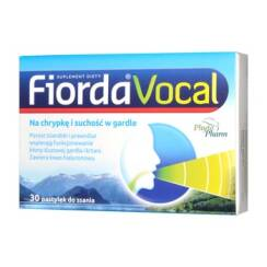 Fiorda Vocal  30 pastylek do ssania